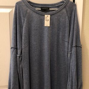 Lightweight fleece dress